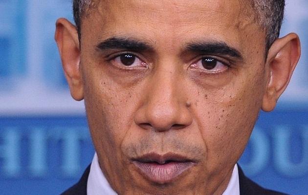 Скорбящий Обама