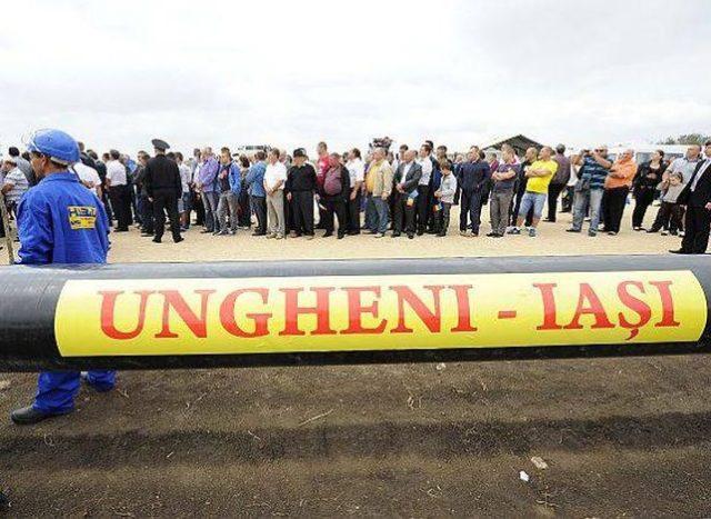 Молдавия газопровод Яссы - Унгены