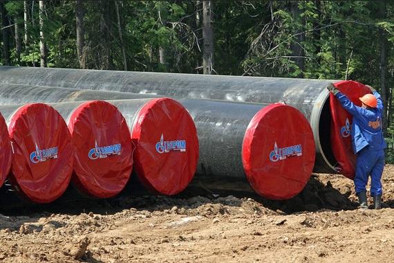 Gazprom Potok Truba