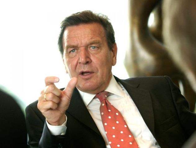 Герхард Шредер санкции
