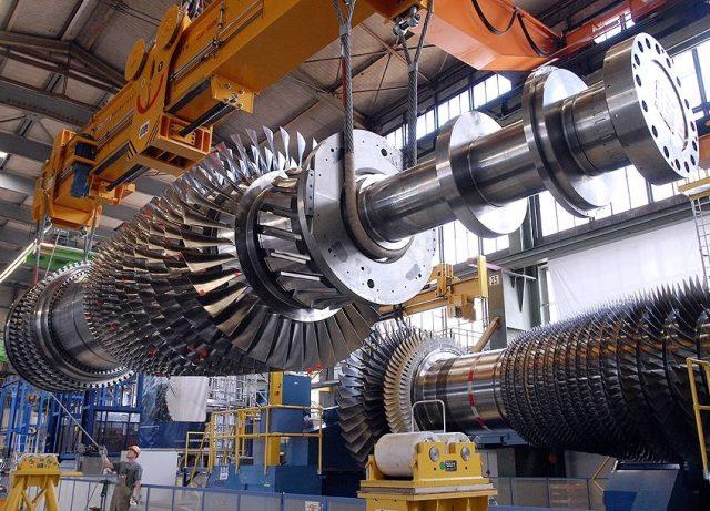 Турбина газ Siemens