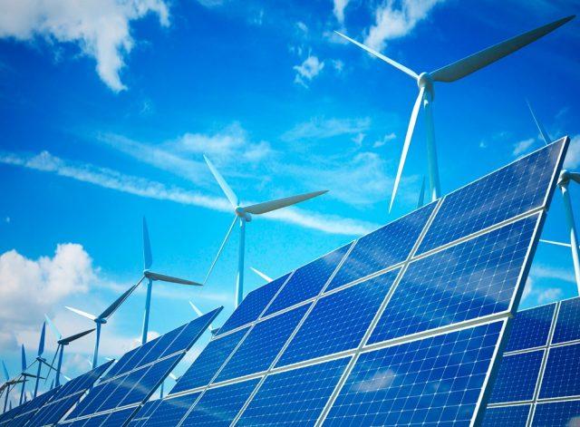 ВИЭ зеленая энергетика