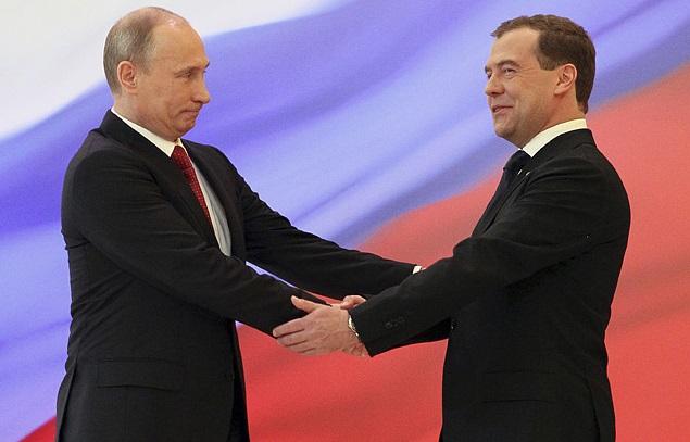 Putin Medvedev