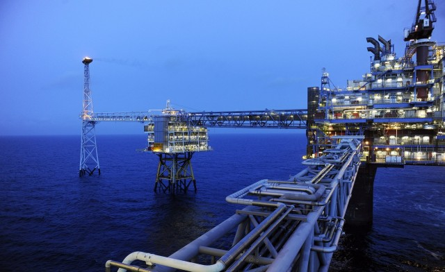 Statoil добыча газа шельф