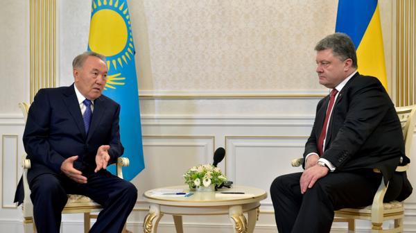 Poroshenko-Nazarbaev