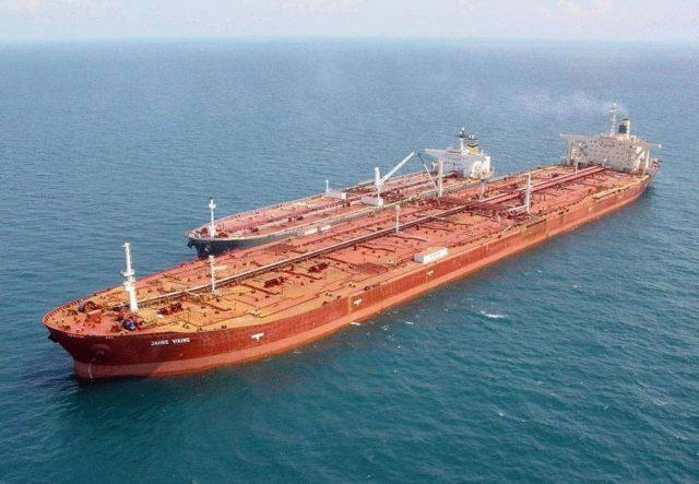 Супертанкер танкер США экспорт нефти