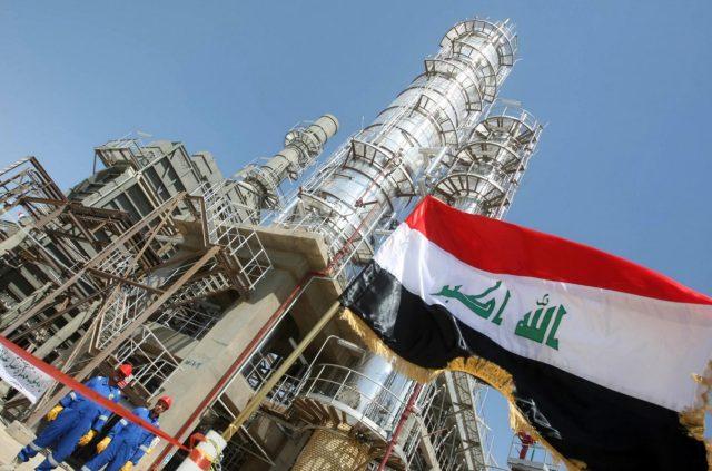Irak_dobycha