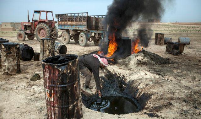 Сирия нефть ИГ