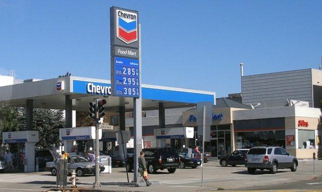 Продажи бензина США