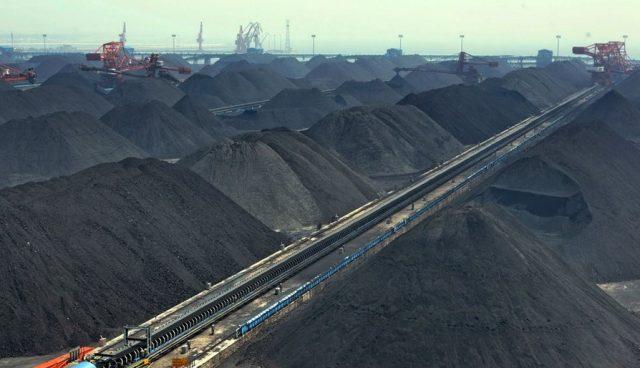уголь Китай
