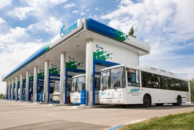 Gazprom station