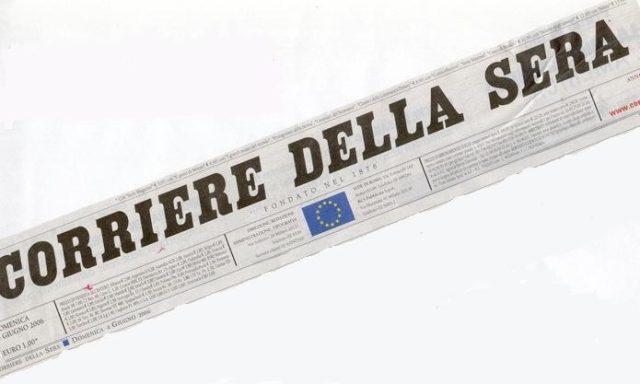 Pressa SMI Corriere  della sera