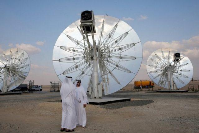ОАЭ солнечная электростанция