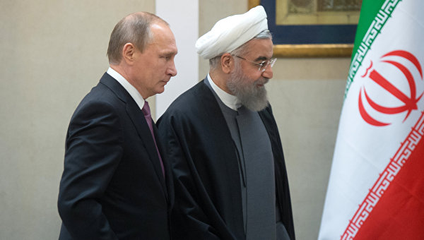 Путин Рухани Иран Россия