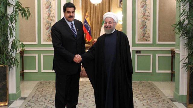 Иран Венесуэла Мадуро Рухани