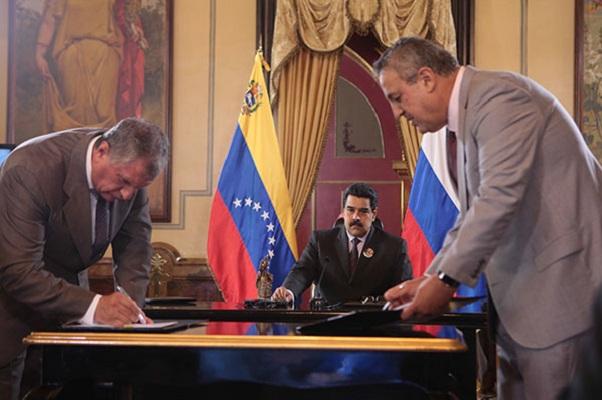 Роснефть PDVSA Венесуэла Сечин дель Пино