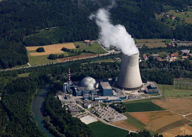АЭС Швейцария Гёсген