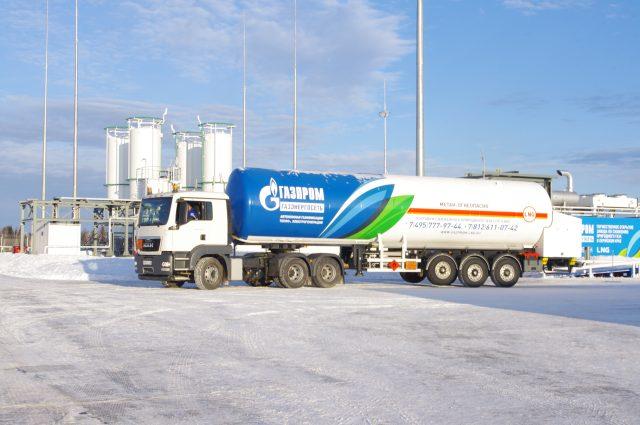 СПГ Газпром автотранспорт