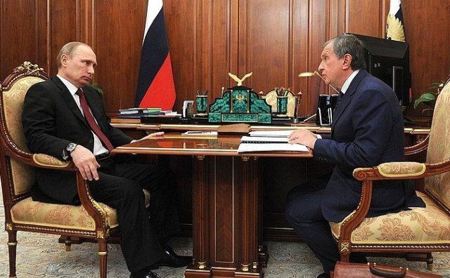 Путин Сечин