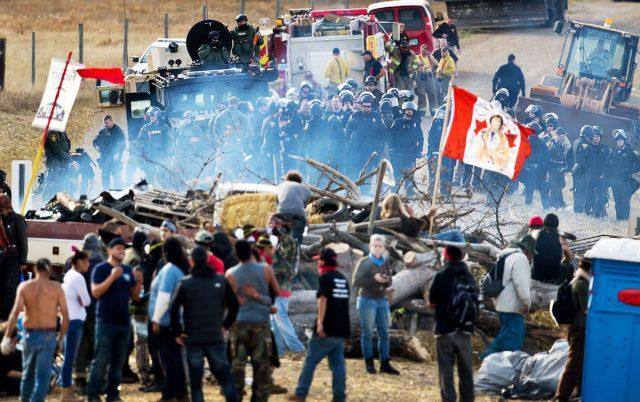 Dakota Access протест США