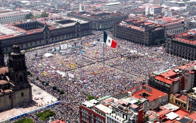 Мексика бензин протесты