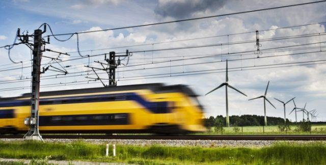Нидерланды железные дороги ветряная энергетика