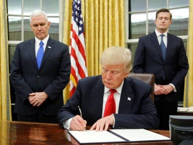 Трамп указ США