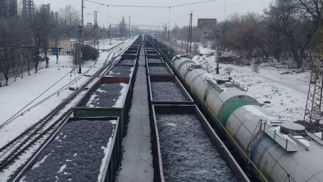 Украина уголь блокада Донбасс