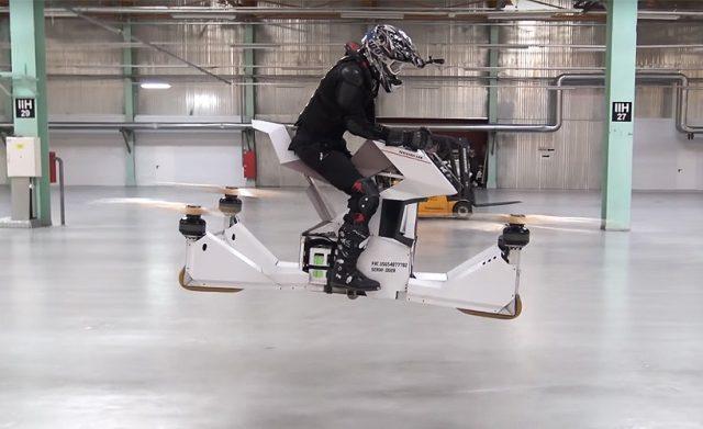 Scorpion 3 летающий мотоцикл