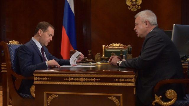 Алекперов Дмитрий Медведев ЛУКОЙЛ