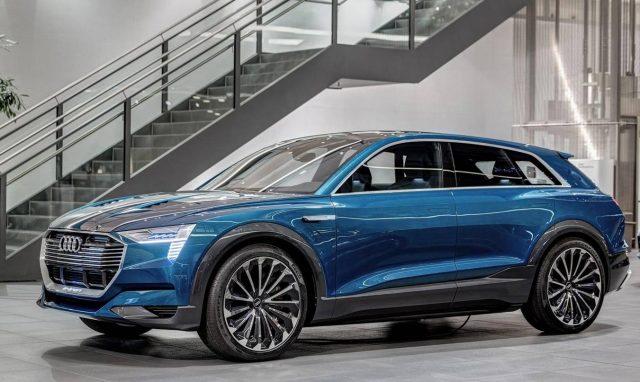 Audi электромобиль