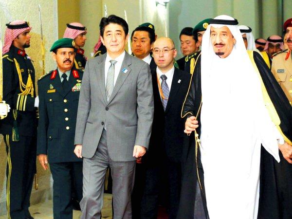Саудовская Аравия Япония Салман Синдзо Абэ