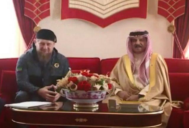 Кадыров Бахрейн король Хамад