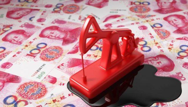 Китай юань импорт нефти