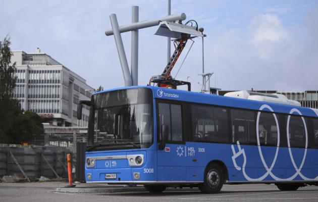Linkker Финляндия электробус
