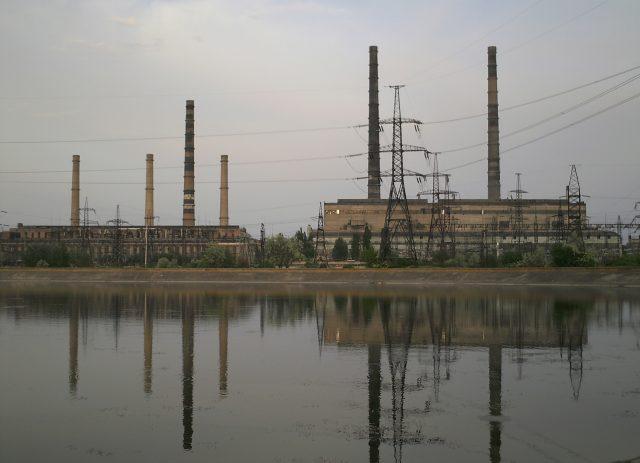 Украина Славянская ТЭС