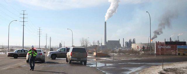 Syncrude Канада Альберта синтетическая нефть