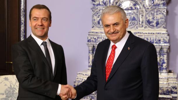 Медведев Йылдырым Турецкий поток