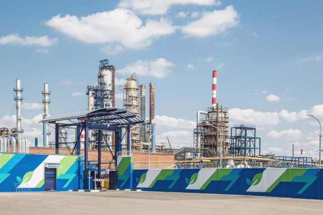 Московский НПЗ Капотня Газпром нефть