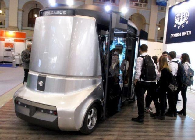 Матрешка Волгабас беспилотный автобус