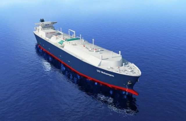 SPG танкер ИИ-система