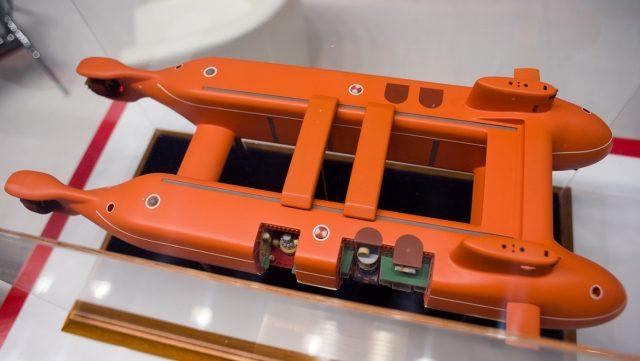 Подводная лодка сейсморазведка Рубин