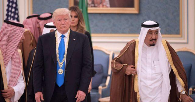 Трамп Саудовская Аравия США