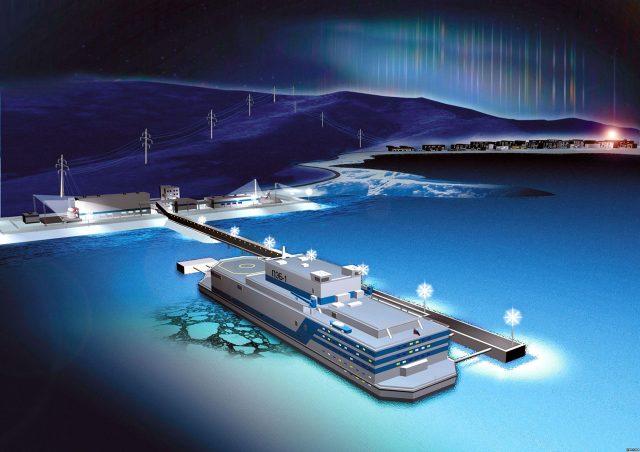 плавучая АЭС Арктика