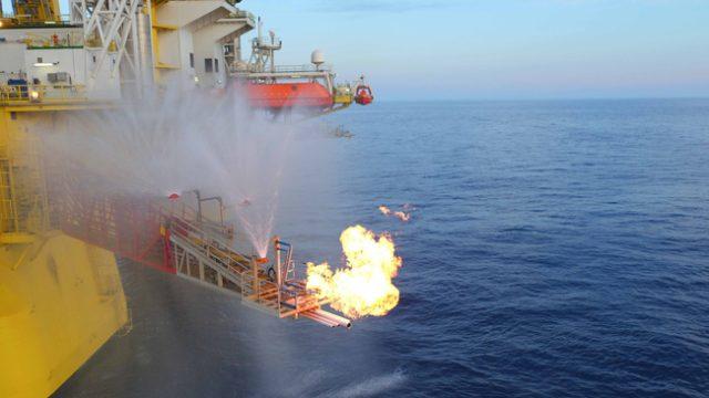 Китай горючий лед добыча газа шельф
