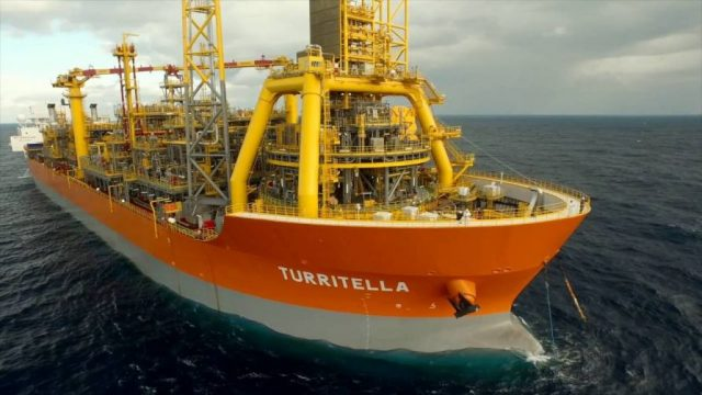 Turritella Shell плавучая буровая платформа