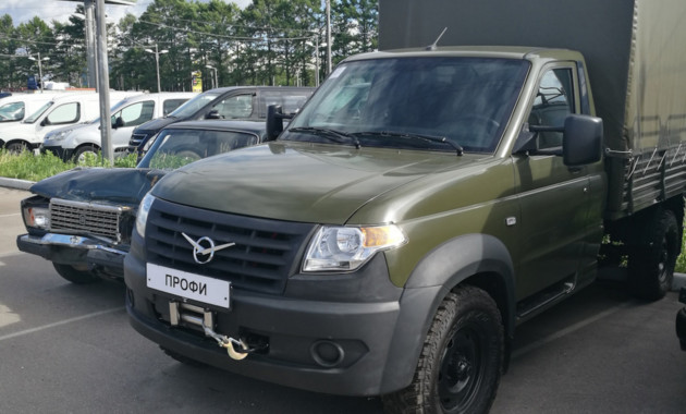 УАЗ Профи гибридный автомобиль