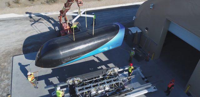 Hyperloop One тест Невада США DevLoop