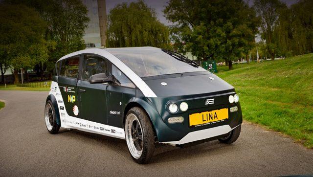 Lina электромобиль Нидерланды