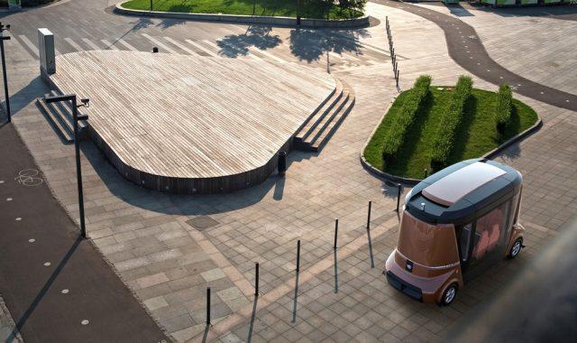 беспилотные автомобили полигон